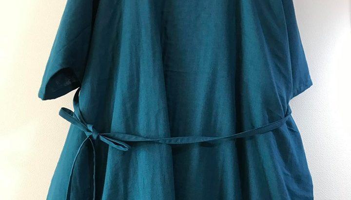 着るシーツ!?Wガーゼ貫頭衣ネグリジェ長袖 ふわふわの着心地でステキな夢を☆【送料無料】