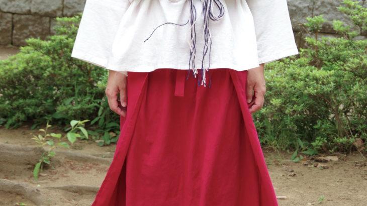 【綿麻素材】貫頭衣チュニック 長袖 〜カラバリあり!11色展開〜